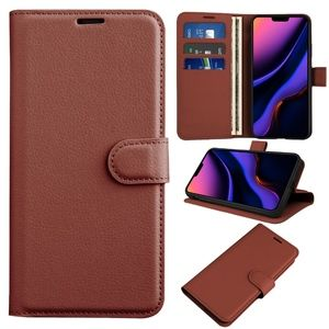 iPhone 11 Pro leather wallet stand cover